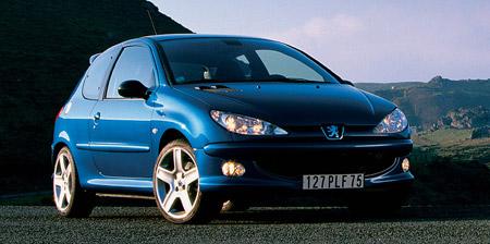 Ak�n� modely Peugeot: 206 Look a Partner Totem