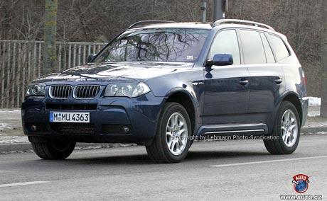 Spy photos: Zásadní inovace BMW X3