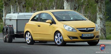 Spy photos: předpremiérové fotografie Opelu Corsa