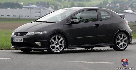 Spy Photos: Honda Civic 3D