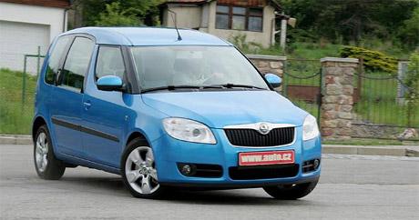 Škoda Roomster byla v červnu nejžádanějším MPV na českém trhu