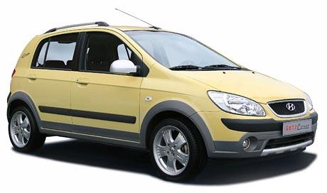 Hyundai Getz Cross: Další baby-SUV