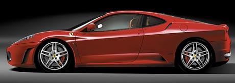 Ferrari F430 dostane výjimku z amerických bezpečnostních předpisů