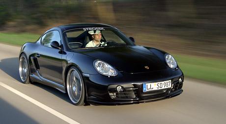 Strosek Porsche Cayman – stylový jako vždy