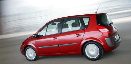 Renault vyrobil u� jeden milion Sc�nic� druh� generace