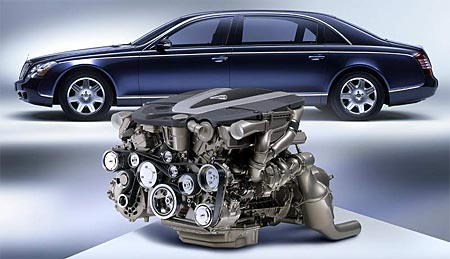 Motory V12 (2. díl): Mercedes+Maybach