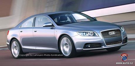 Spy Photos: Audi připravuje čtydveřové kupé A7