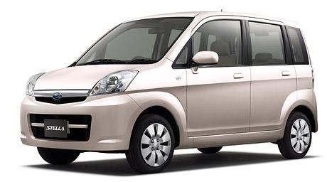Subaru Stella: nový minivůz pro Japonsko