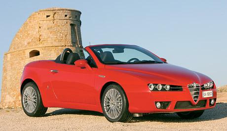 Alfa Romeo Spider: Oficiální fotografie