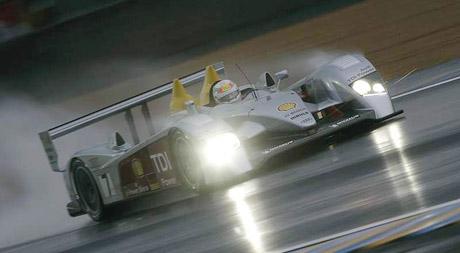 Audi R10 V12 TDI vyhrálo kvalifikaci na Le Mans