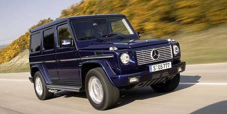 25 let terénního Mercedesu třídy G