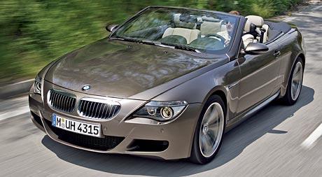 BMW M6 Cabrio: Sny s větrem ve vlasech