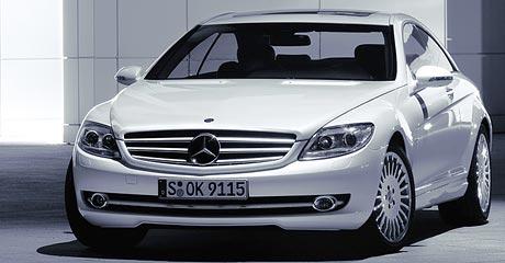 Mercedes-Benz CL: První fotografie!