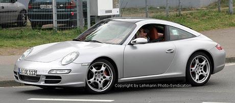 Spy Photos: Porsche 911 Targa