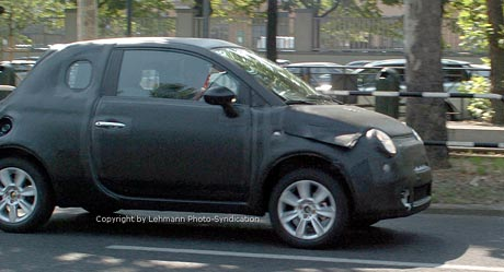 Spy photos: maličký Fiat 500