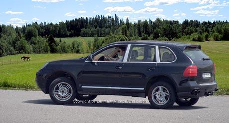 Spy Photos: Porsche Cayenne po faceliftu (první foto)
