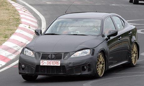 Spy Photos: Lexus IS 500 na Nürburgringu