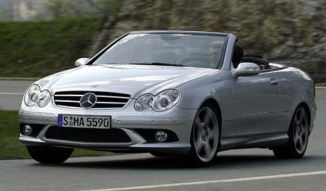 Mercedes-Benz CLK 500 s novým osmiválcem