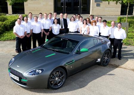 Londýn: Aston Martin V8 Vantage: Project 30.000