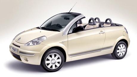 Speciální edice Citroën C3 Pluriel Latte. V Česku ne!