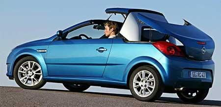 Opel Tigra TwinTop: Z kupé na kabrio za 18 sekund