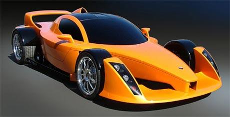 Hulme supercar do v�roby v roce 2008 (video)