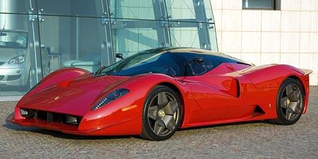 Pininfarina představil další sběratelský prototyp: Ferrari P4/5