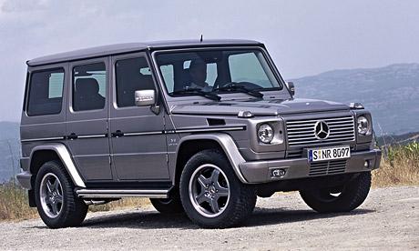 Mercedes-Benz G 55 AMG Kompressor nyní s 368 kW