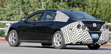 Spy Photos: nov� Chevrolet Impala