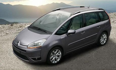 Citroën C4 Picasso: Na vzduchovém polštáři