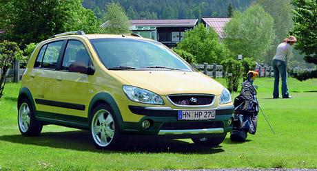 SUV-look také pro Hyundai Getz Cross