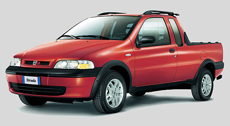 Fiat Strada: Lehký facelift