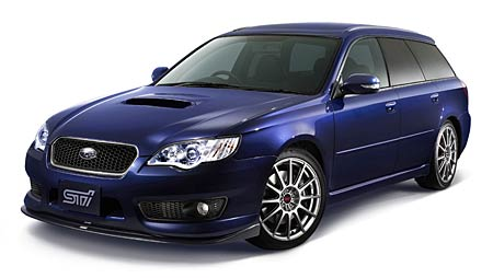 Subaru: STi paket pro Legacy