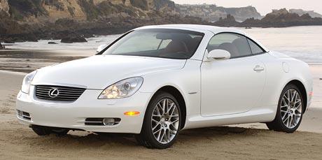 Pebble Beach: speciální edice Lexus SC 430