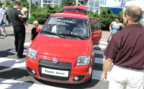 Fiat Panda Sport: mikroGTI s motorem 1.4 16V (73 kW)