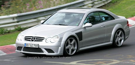 Spy Photos: Mercedes-Benz CLK DTM AMG