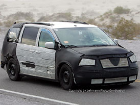 Spy Photos: nový Chrysler Town & Country (Voyager)