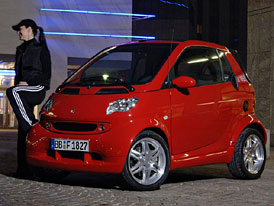 Smart Fortwo Edition Red � s�rie na rozlou�enou