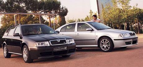 Škoda Octavia GT (142 kW): rychlý Tour pro řecký trh