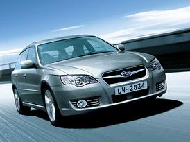 Paříž: Facelift Subaru Legacy - doplněno!