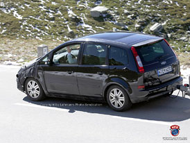 Spy Photos: Ford Focus C-Max facelift
