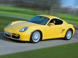 Základní model Porsche Cayman v Česku za 1,5 milionu