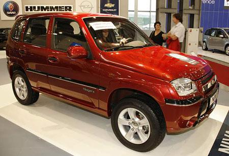 Autosalon Moskva: GM v Rusku s�z� na zna�ku Chevrolet