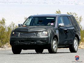 Spy Photos: SUV Hyundai/KIA s motorem V8
