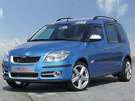 Škoda Roomster s lehkým tuningem Milotec