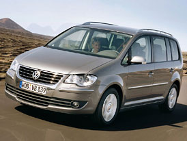 Volkswagen Touran 2007: pařížské inovace