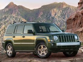 Jeep p�iv�� do Evropy Patriot a Compass Rallye