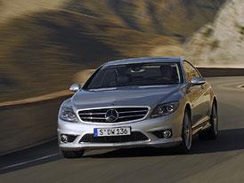 Mercedes-Benz CL 63 AMG – rychlý luxus