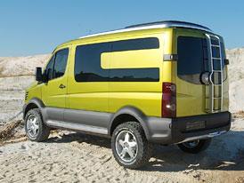 Volkswagen Crafter Atacama: s nákladem do terénu