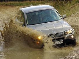 BMW X3: prvn� j�zdn� dojmy